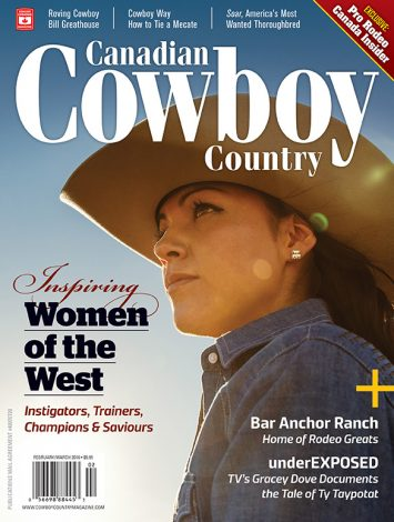 Canadian Cowboy Country 1602 Cover