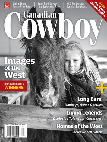 Canadian Cowboy Country 1608 Cover