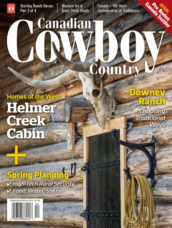 Canadian Cowboy Country 1702 Cover